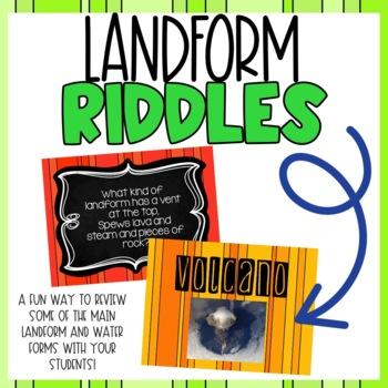Landform Riddles Powerpoint