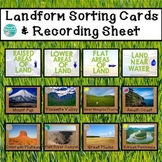 Landform Sorting Cards & Recording Sheet