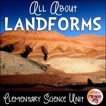 All About Landforms Unit
