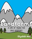 Landform Unit for Little Learners