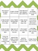 Landform Vocabulary Reverse Bingo