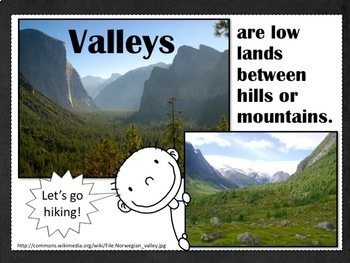 Landforms and Bodies of Water PPT