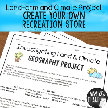 Landform and Climate Project