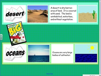 Landform and Forms of Water Project