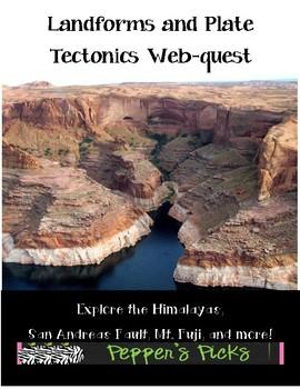 Landform and Plate Tectonics Web-quest