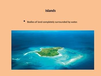 Landform and Waterway Powerpoint/ slideshow