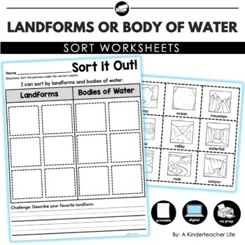Landform or Body of Water Sort