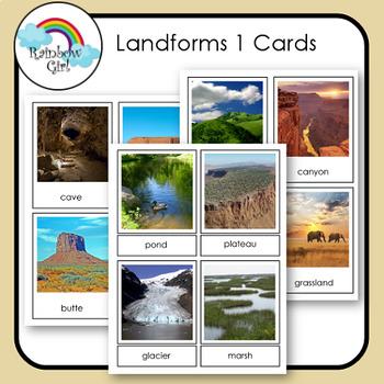 Landforms 1 Cards