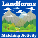 Landforms Matching Game