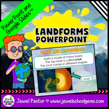 Landforms Activities (Landforms PowerPoint)