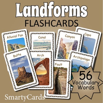 Landforms Flashcards