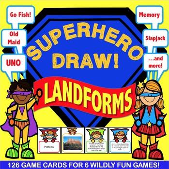 Landforms Activities: 6 Landforms Games
