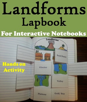Landforms and Bodies of Water Activity (Geology Unit)