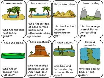 Landforms Game