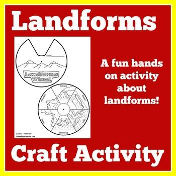Landforms Activity | Geography Landforms and Landscapes