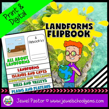 Landforms Activities (Landforms Flip Book)