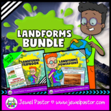 Landforms Activities BUNDLE (PowerPoint and Flipbook)