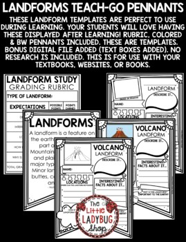 Landforms Research Project & Rubric