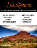 Landforms Activities and Lesson Plans