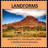 Landforms - characteristics and formation