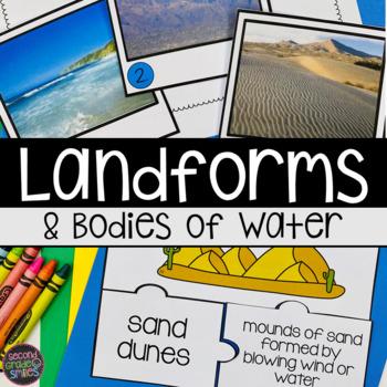 landforms by second grade smiles teachers pay teachers. Black Bedroom Furniture Sets. Home Design Ideas