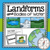 Landforms and Bodies of Water {A Complete Unit}