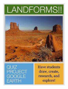 Landforms!! A Quiz, A Project, and Google Earth