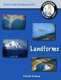 Landforms: A Ready to Use Sorting & Learning Activity Bundle