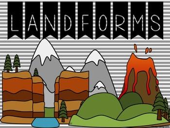 Landforms: A Supplemental Unit