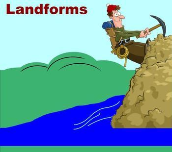 Landforms - A Third Grade SmartBoard Introduction