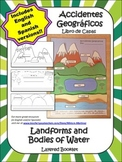 LANDFORMS / ACCIDENTES GEOGRAFICOS. Layered Shapebook in English and/or Spanish