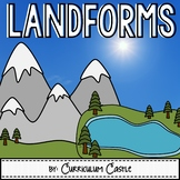 Landforms Activities & Printables