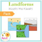 Landforms Activity Pack