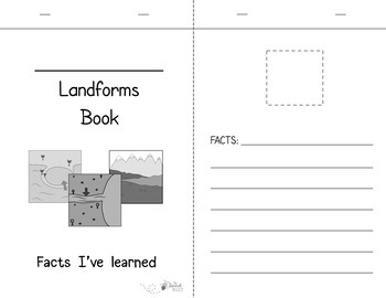 Landforms Activity Pack