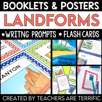 Landforms  Creating A Booklet and More!