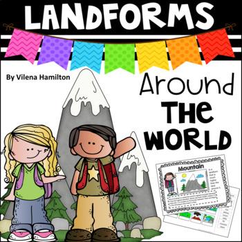 """Landforms Around The World"" Mini Packet"