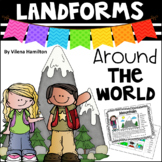 """Landforms Around The World"" Mini Packet"