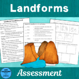 Landforms Assessment