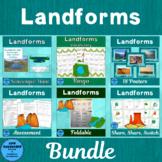 Landforms Active Learning Bundle