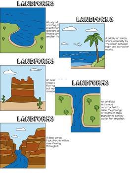 Landforms BINGO