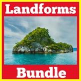 Landforms | 1st 2nd 3rd 4th Grade | Activities BUNDLE
