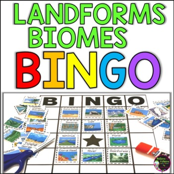 Landforms/ Biomes Bingo
