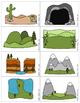 Landforms & Bodies of Water - Memory Game & Quiz-Quiz-Trade Cards
