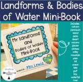 Landforms & Bodies of Water Mini-Book