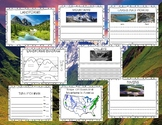 Landforms Book and Booklet -Text Features