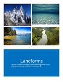 Landforms Booklet