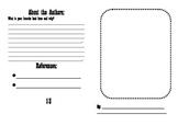 Landforms Booklet Template