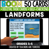 Landforms Boom Cards | Distance Learning