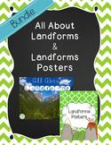 Landforms Bundle {All About Landforms & Landform Posters}
