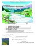 Landforms (Changes to Earth's Surface) Notes